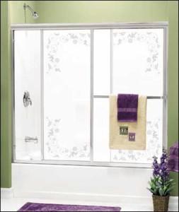 Framed Bi-pass Shower