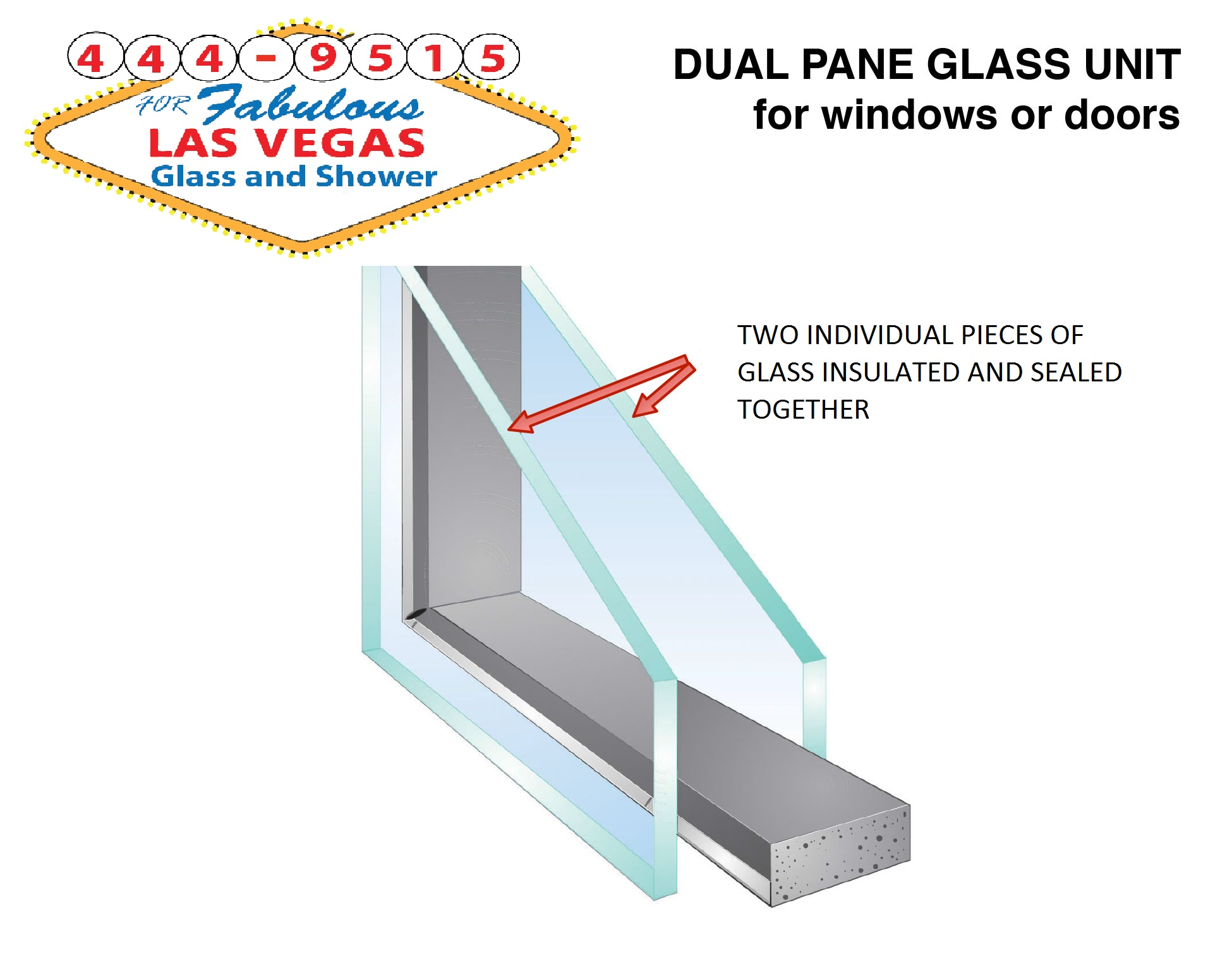 5 questions to price glass repair in las vegas glass for Thickness of glass wall for exterior